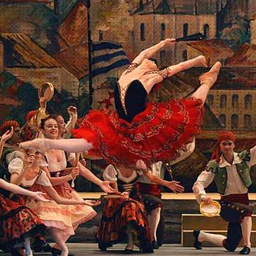 代表的なバリエーションが多いドン・キホーテ|NOAバレエ教室